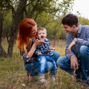 Детская и семейная осенняя фотосессия в Измаил. Фотограф Елена Сейрик.